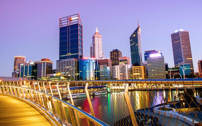 Elizabeth Quay, Perth
