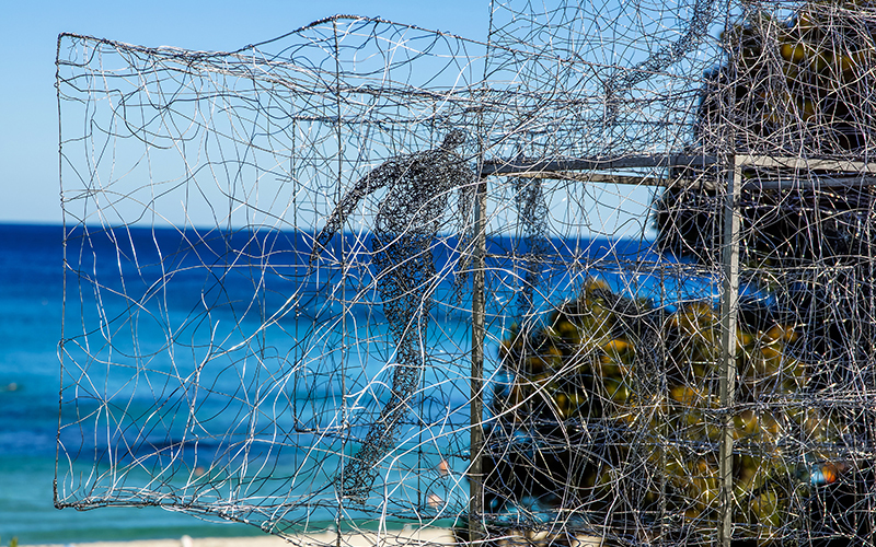Barbara Licha, Listen Time Passes … (Cottesloe), Sculpture by the Sea, Cottesloe 2016