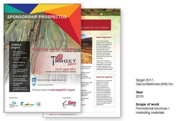 Target 2017 sponsorship brochure