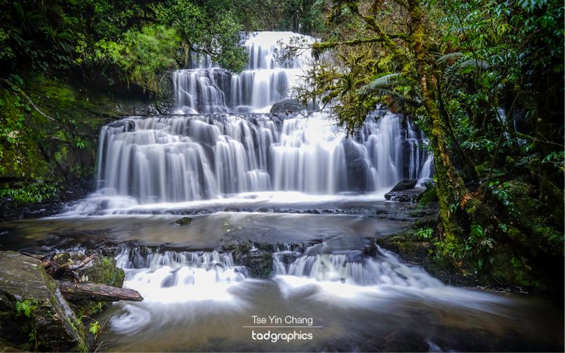 Purakaunui Falls, Catlins, New Zealand