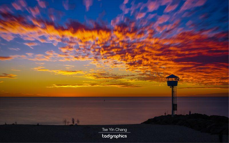 City Beach sunset, Western Australia