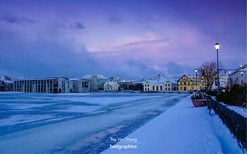 Lake Reykjavíkurtjörn