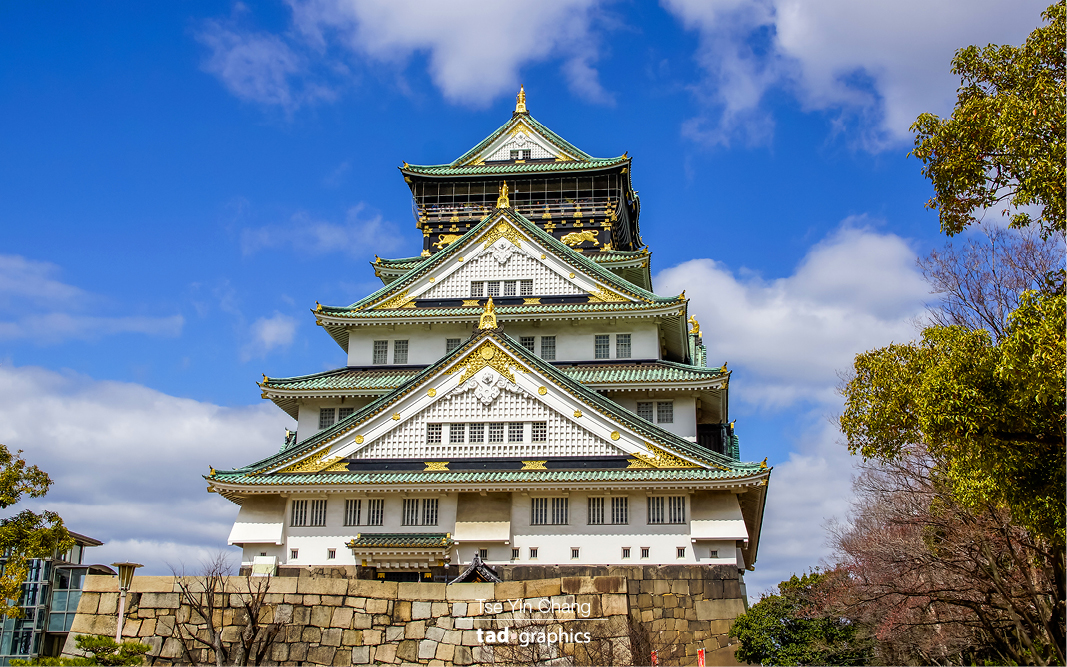 Osaka is also home to one of Japan's most famous landmarks and popular tourist attractions, Osaka Castle