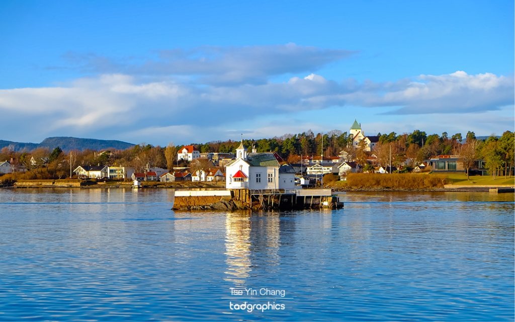 A beautiful and calm morning to explore the islands of the Oslofjord