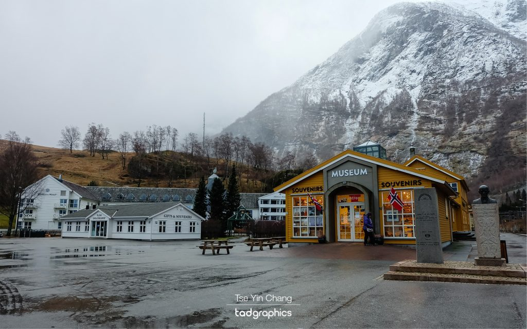 Flåm village