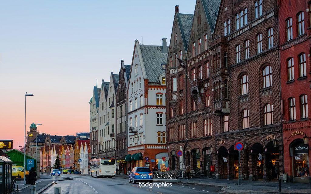 Bryggen, one of Bergen's and Norway's main attractions
