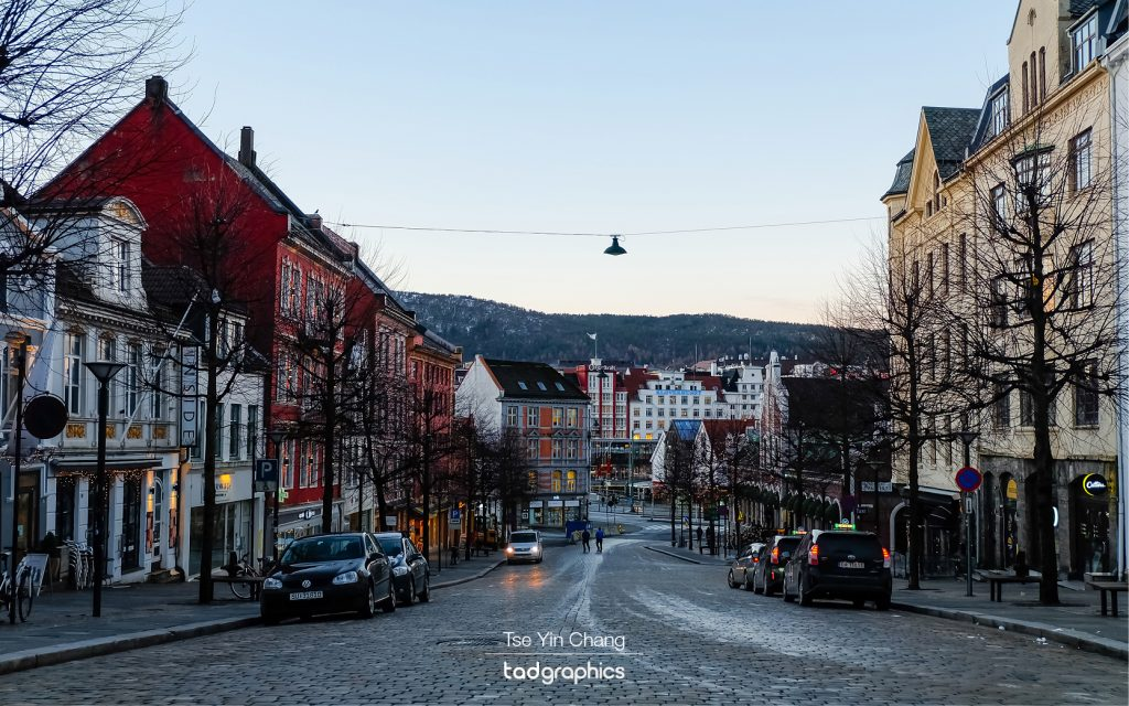 Bergen is Norway's second largest city. But with less than 300,000 people living within the city limits, it had a nice small town charm