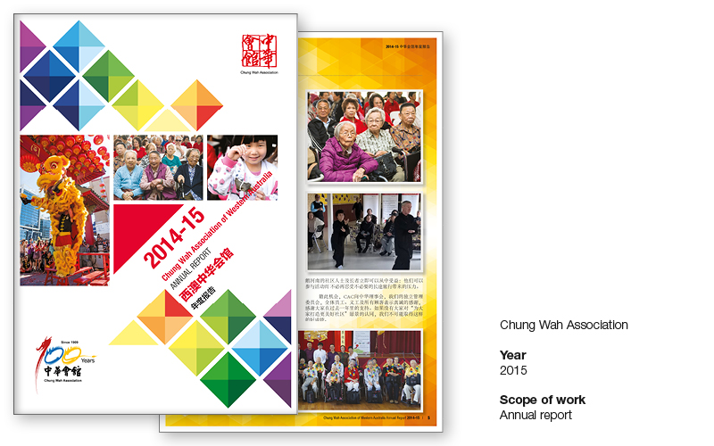 Annual report - Chung Wah Association