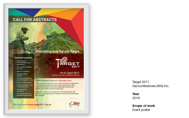 Target 2017 event poster